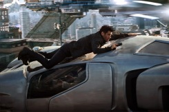 Colin Farrell stars in Columbia Pictures' action thriller TOTAL RECALL.